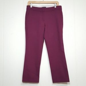 J.Crew Campbell Capri Pant in Bi-Stretch Wool Sz 4